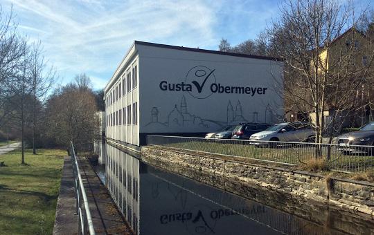 Завод Gustav Obermeyer в г. Плауэн, Германия